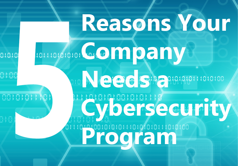 5 Reasons Your Company Needs a Cybersecurity Program