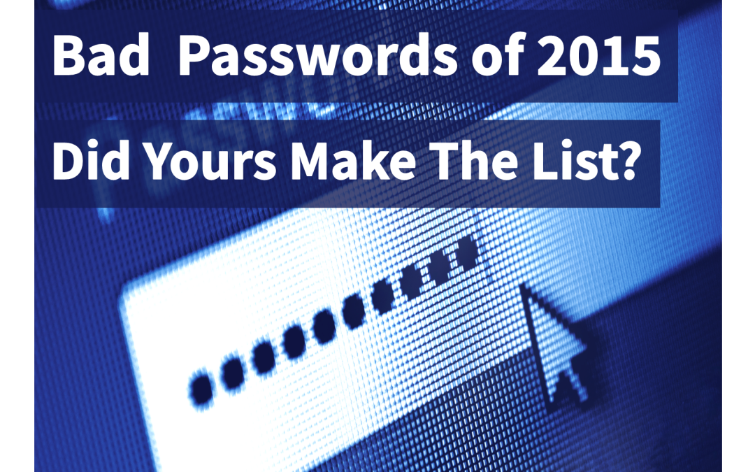 Your Bad Password Could Cause a Cyber-Attack