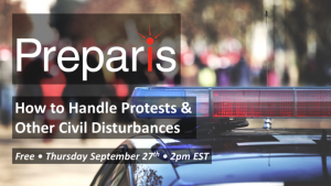 How to Handle Protests & Other Civil Disturbances