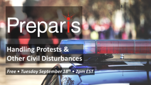 Handling Protests & Other Civil Disturbances