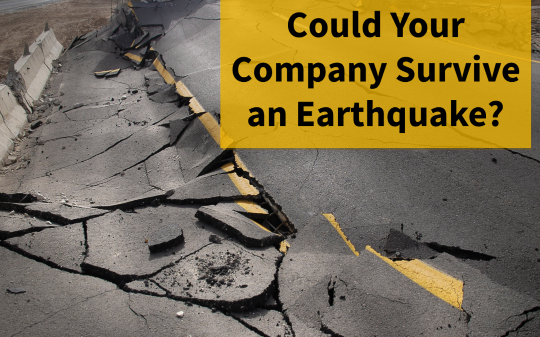 Could Your Business Survive an Earthquake?