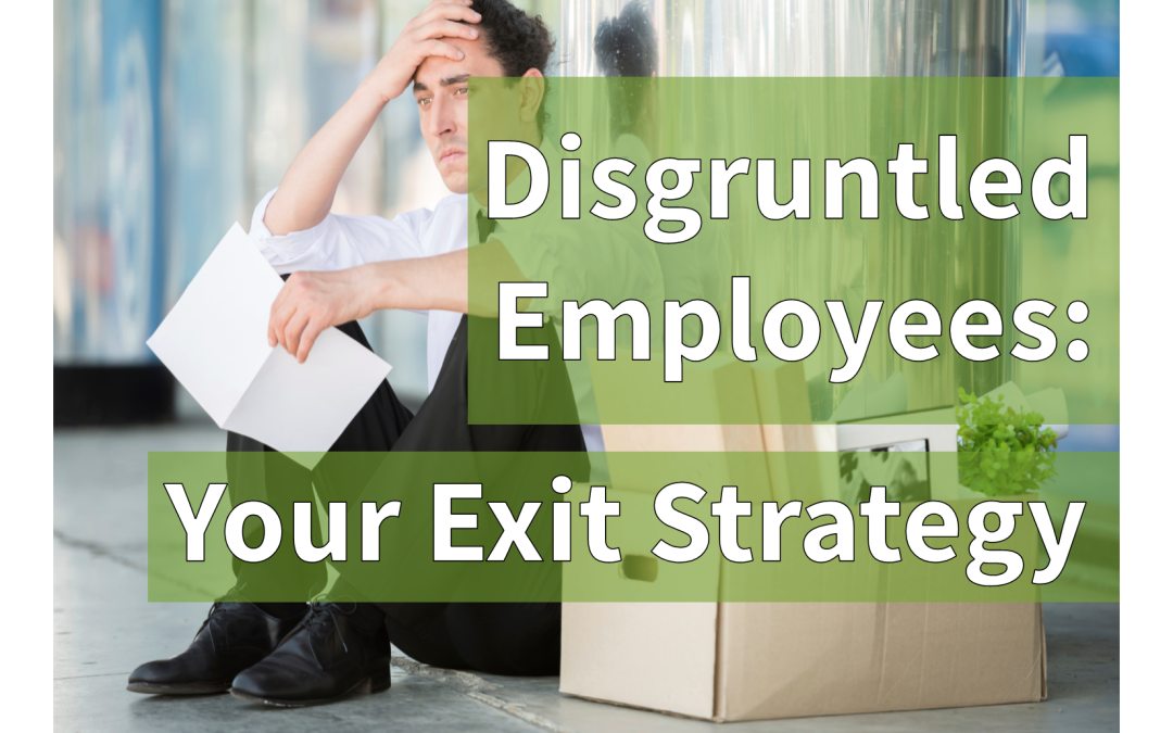 What's Your Exit Strategy? Factoring Disgruntled Employees into Your BC Plan