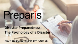 Disaster Preparedness: The Psychology of a Disaster
