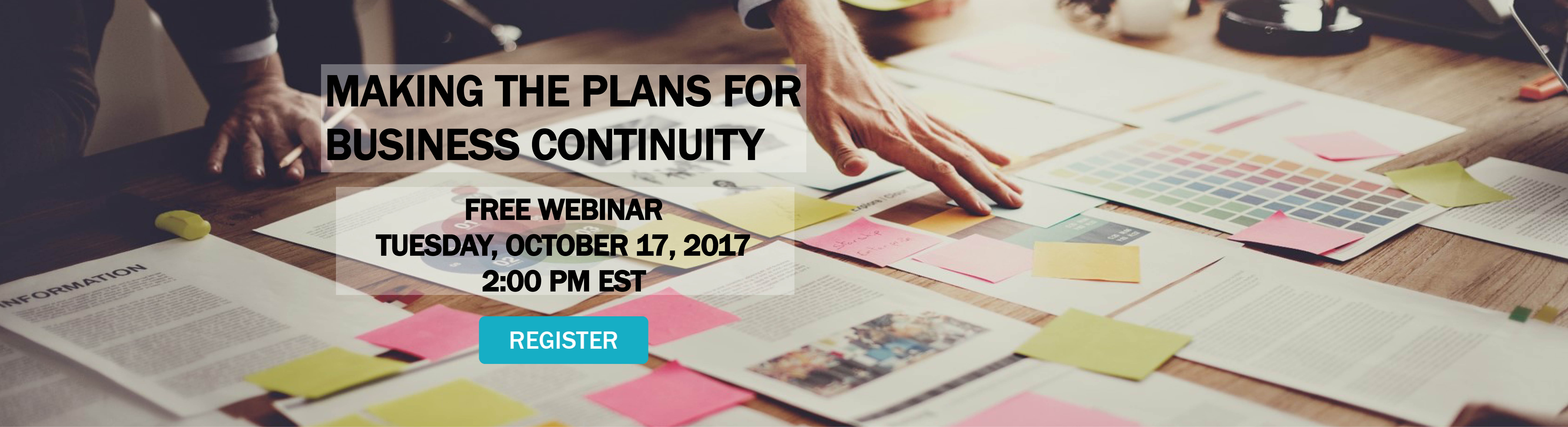 Making-the-Plans-for-Business-Continuity-Webinar-Hero-Image