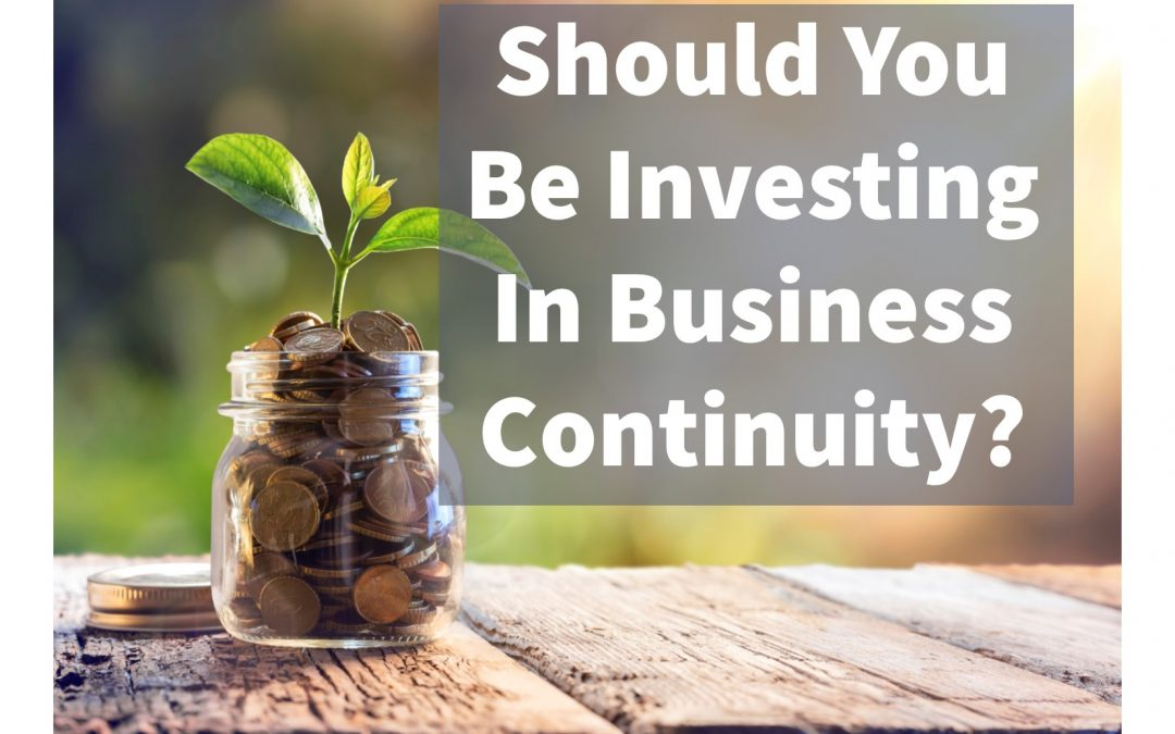 Why Asset Managers Should Invest in Business Continuity