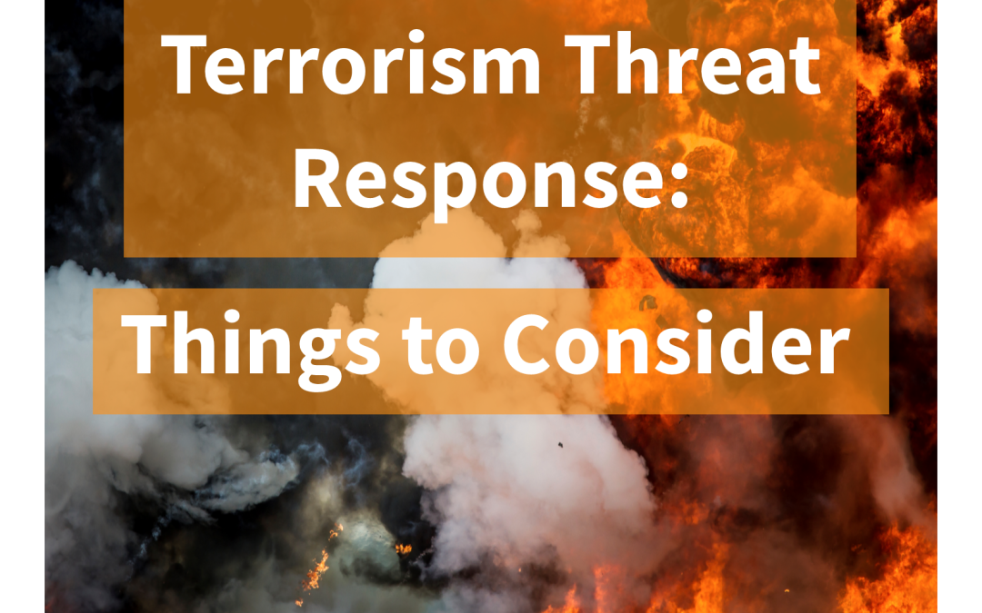 terrorism response essay Local police response to terrorism essay by renkcub , college, undergraduate , b+ , january 2013 download word file , 12 pages download word file , 12 pages 00 0 votes.